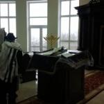 מבית הכנסת נשקף נוף מרהיב ביופיו